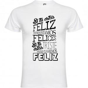 Camiseta Felicidad compartida