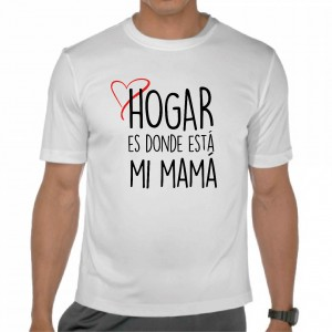 Camiseta Hogar es donde este Mamá