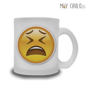 Emoji taza cansado, que dura es la vida!