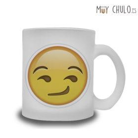 Emoji taza interesante