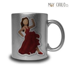 Emoji taza flamenca