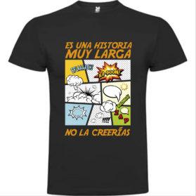 Camiseta Es una historia muy larga