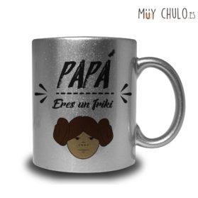 Taza Papá eres un friki
